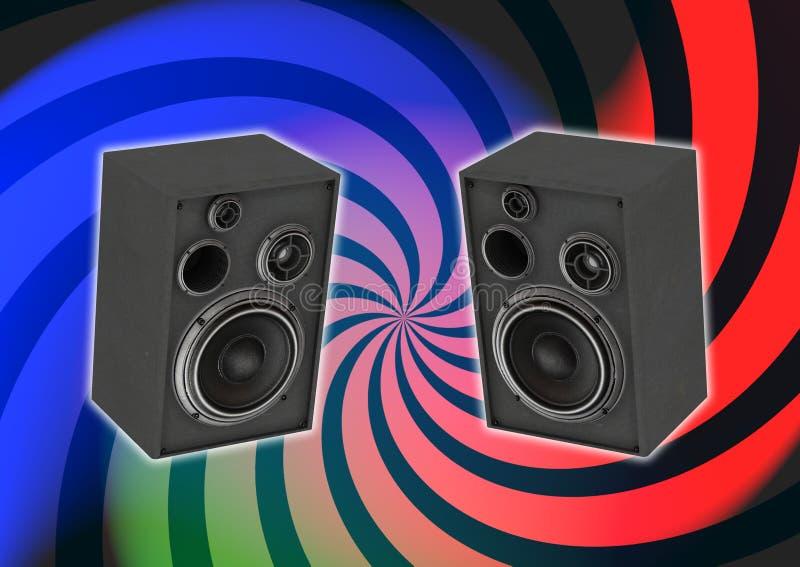 Audiosystem stock abbildung