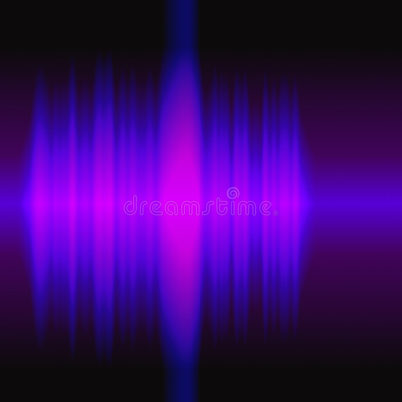 audiowaves例证 向量例证