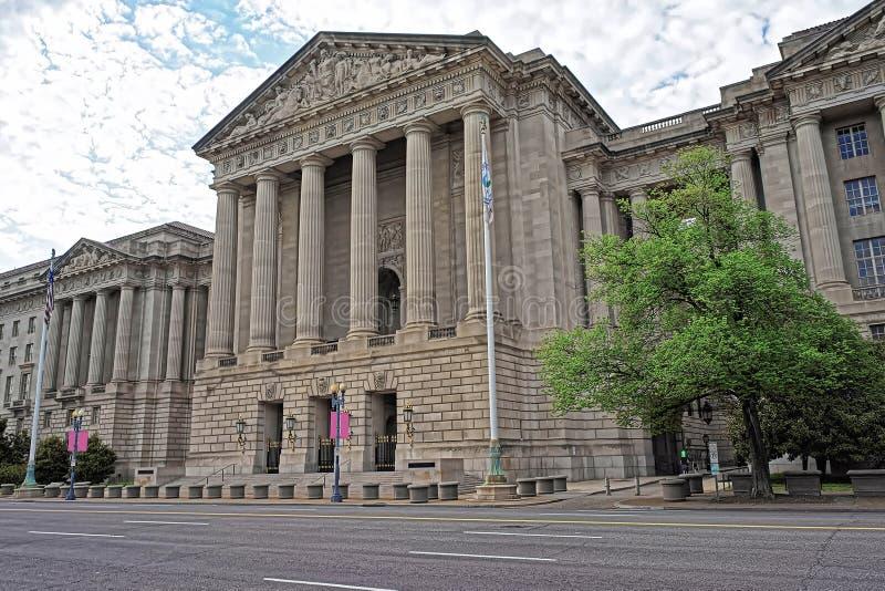 Auditório de Andrew W Mellon no Washington DC E.U. imagens de stock