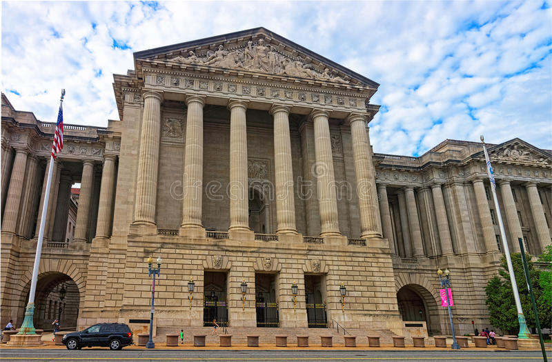 Auditório de Andrew W Mellon no Washington DC EUA imagem de stock royalty free