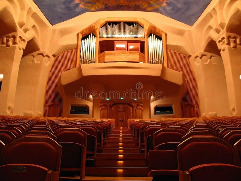 Auditório de Gotheanum, Dornach, Switzerland fotografia de stock royalty free