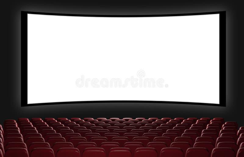 Auditório do cinema ilustração do vetor