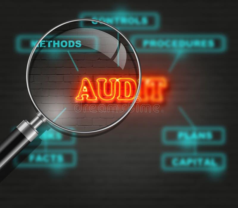 audit illustration libre de droits