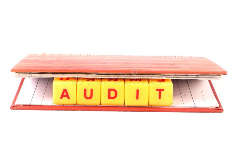 Audit royalty free stock photography