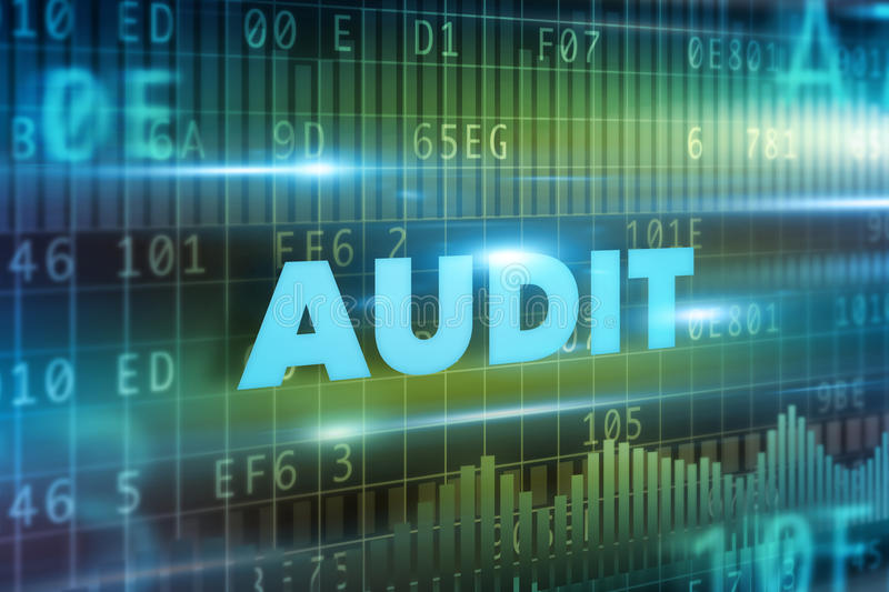 Audit concept royalty free stock images