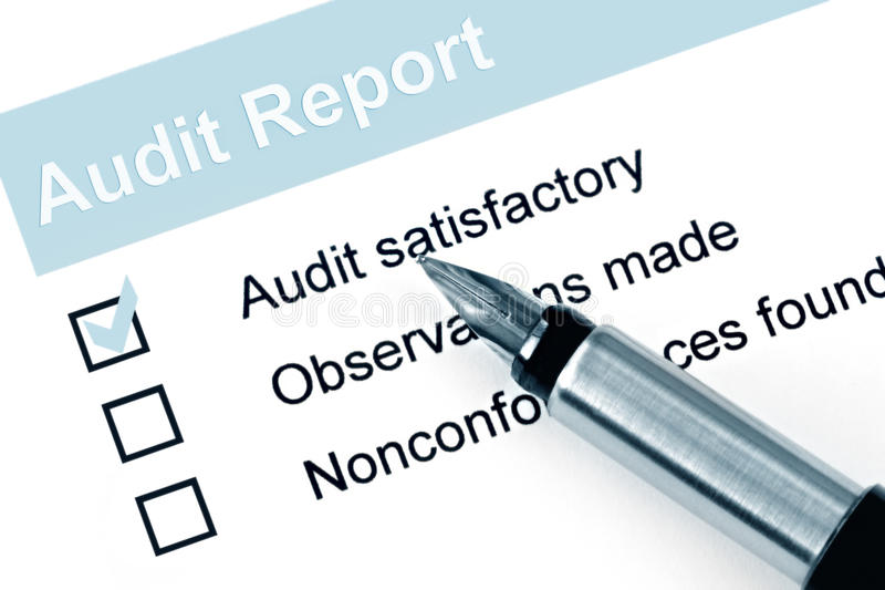 Audit Report Stock Image Image Of Colour Image Appraisal