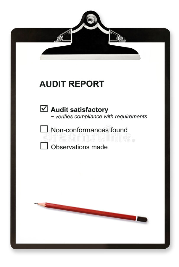 Audit Report royalty free stock images