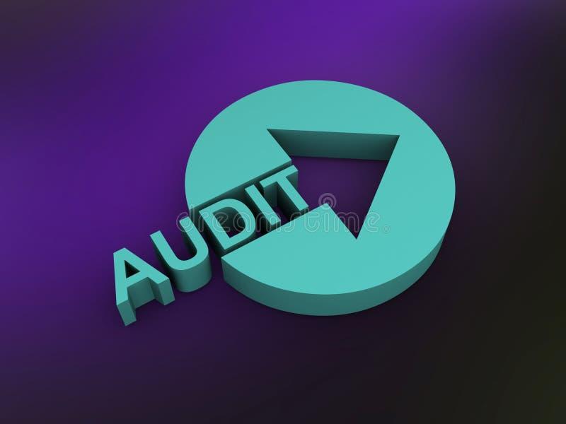 Audit vector illustration