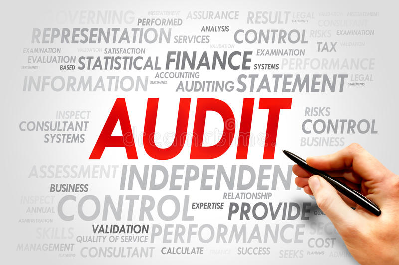 AUDIT stock photography