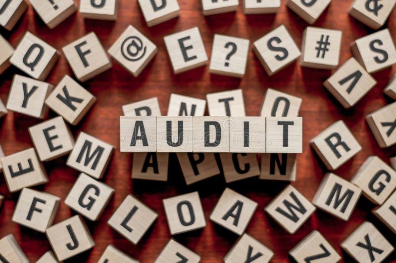 Audit word concept stock photos
