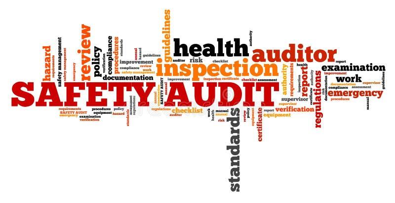 Auditoria de segurança ilustração stock