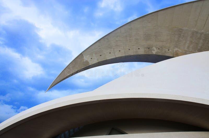 Auditorio de Тенерифе Adan Мартин стоковые изображения rf
