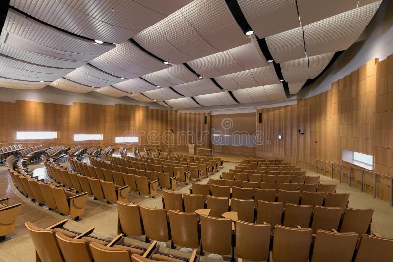 Auditorio de Deloitte en la Universidad de Illinois imagen de archivo