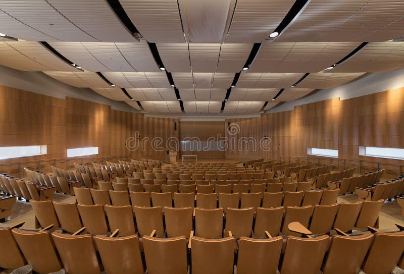 Auditorio de Deloitte en la Universidad de Illinois fotos de archivo