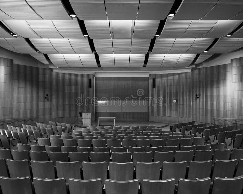 Auditorio de Deloitte en la Universidad de Illinois imágenes de archivo libres de regalías