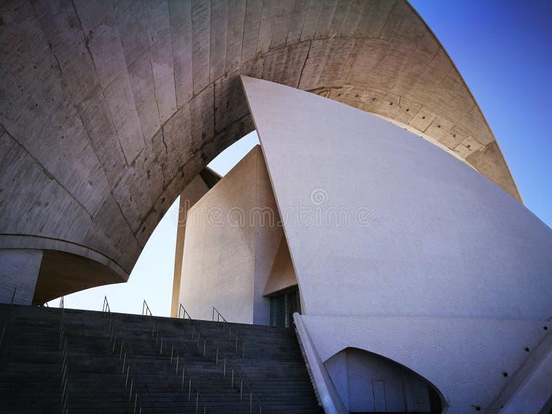 Auditorio de Santa Cruz foto de archivo libre de regalías
