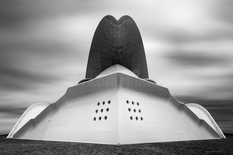Auditorio de Tenerife photo stock
