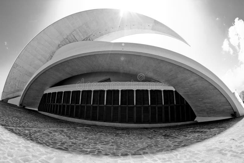 Auditorio de Tenerife imagem de stock