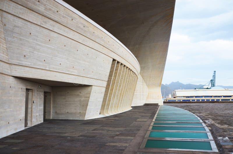 Auditorio de Tenerife Adan Martin arkivfoto