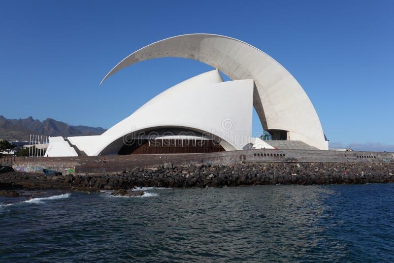Auditorio de Tenerife, España fotos de archivo libres de regalías