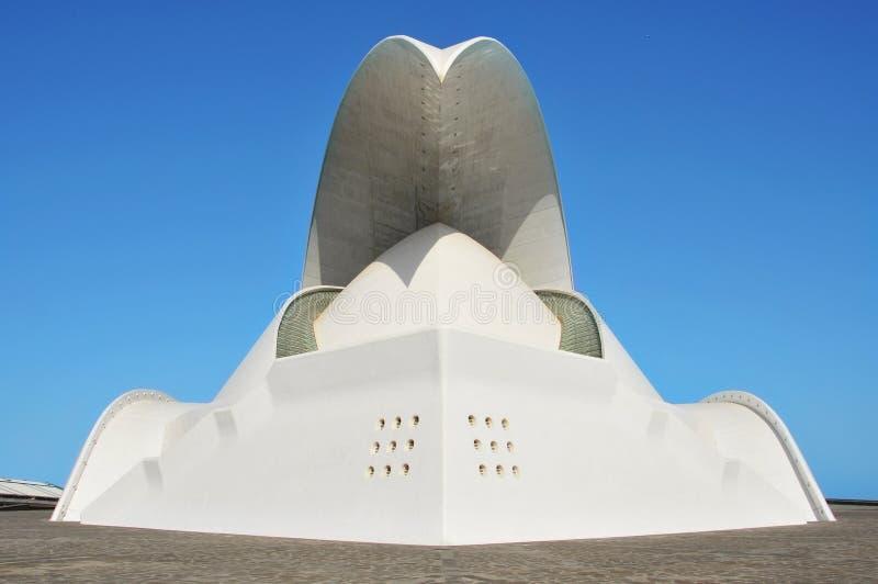 Auditorio de Tenerife, Santa Cruz de Tenerife, S imagen de archivo