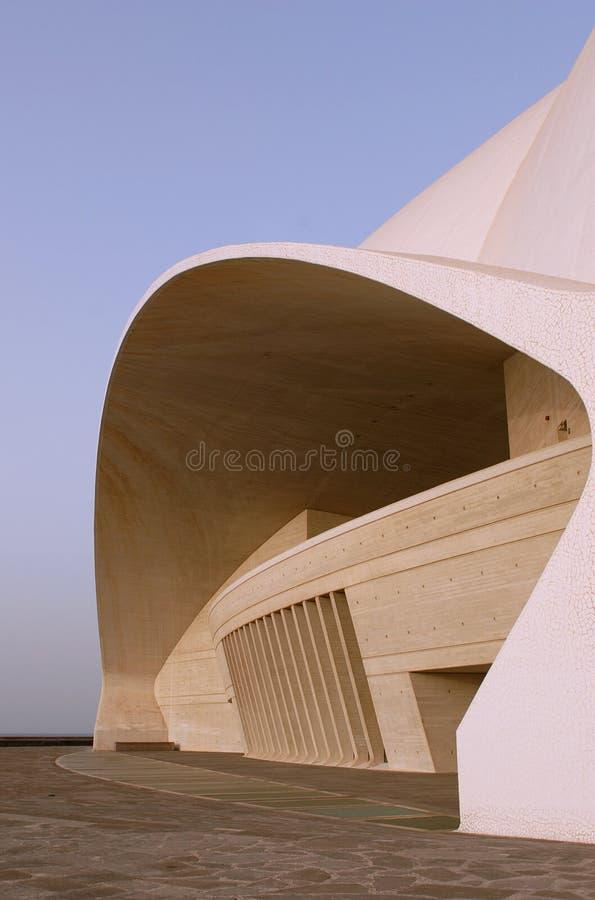 Auditorio de Tenerife - side view