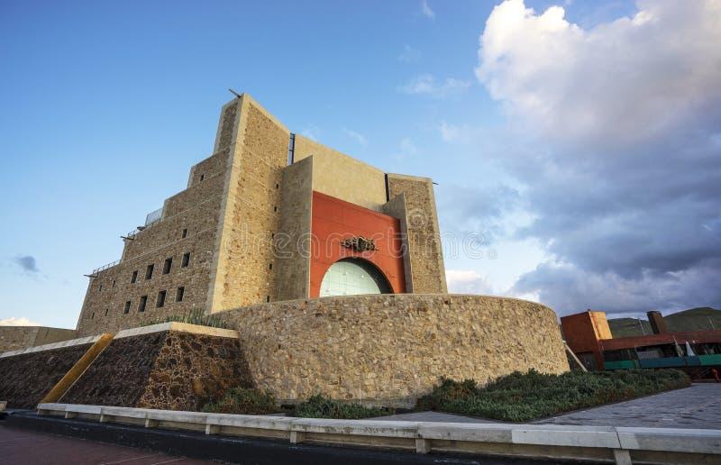 Auditorio en Las Palmas de Gran Canaria fotografía de archivo