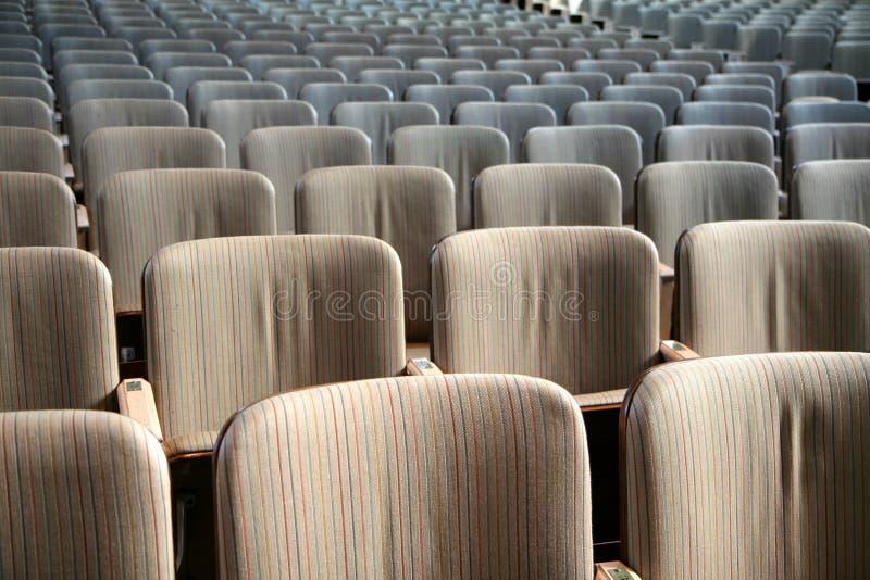 Auditorium royalty-vrije stock afbeelding