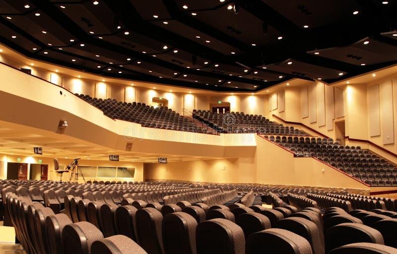 Auditorium stock afbeelding