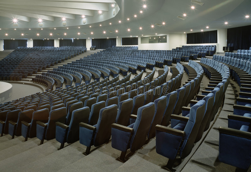 Auditorium stockfotografie