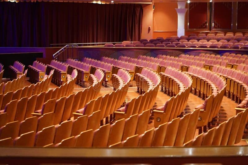 Auditorium, Konzertsaal, Künste zentrieren, arbeiten Hall stockfotografie