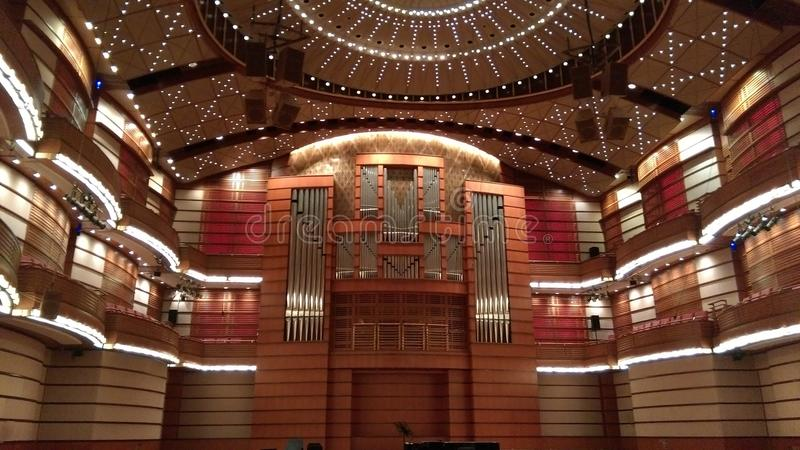 Auditorium royalty free stock photos