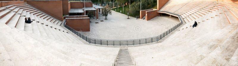 Auditorium Parco-della Musica in Rom, Italien stockfotografie