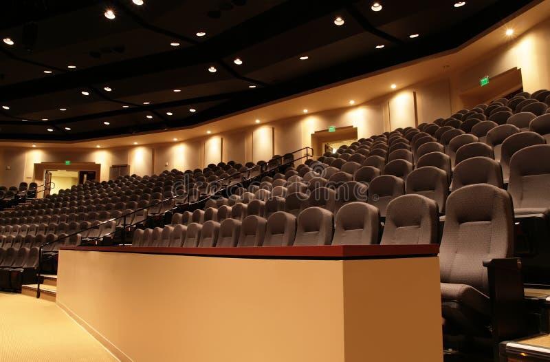 Auditoriums-Balkon lizenzfreies stockfoto