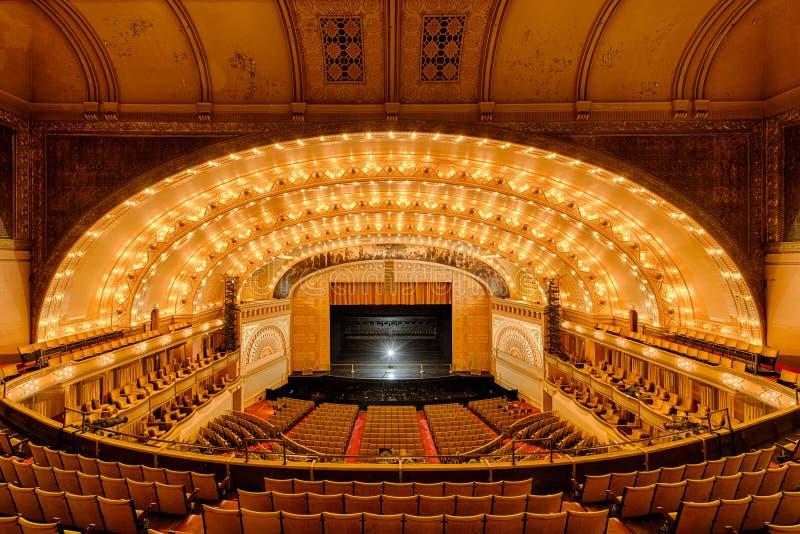Auditoriums-Theater stockbild