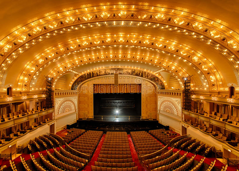 Auditoriums-Theater lizenzfreie stockbilder