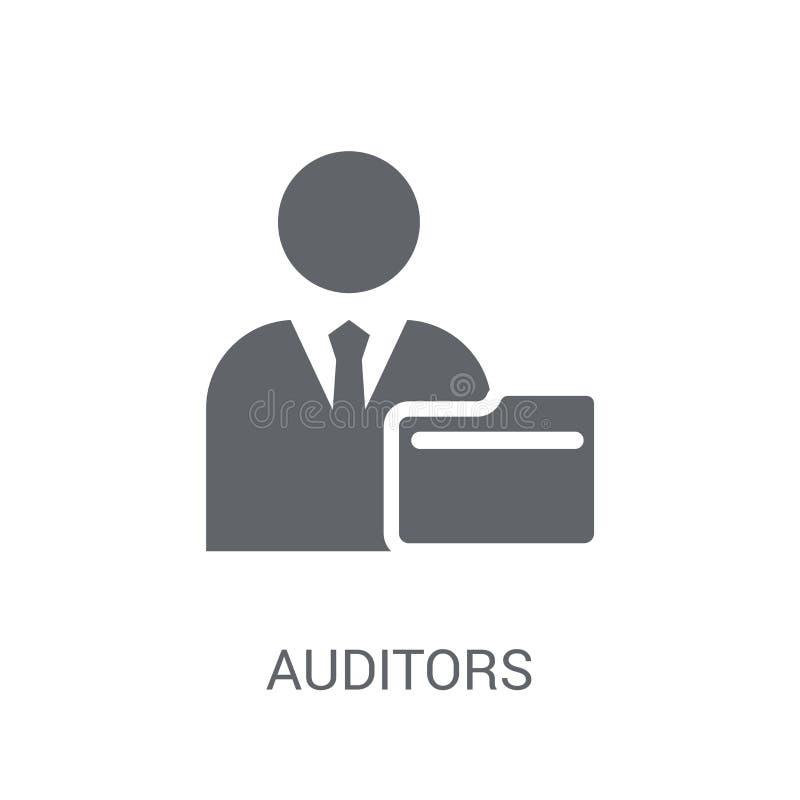 Auditors icon. Trendy Auditors logo concept on white background royalty free illustration