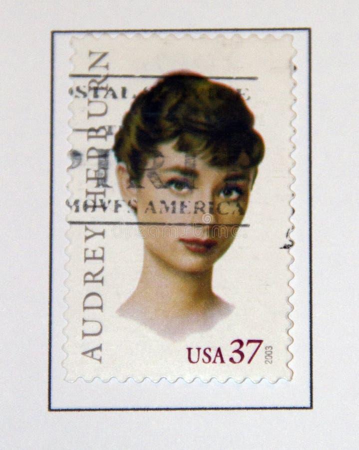 Audrey Hepburn imagen de archivo