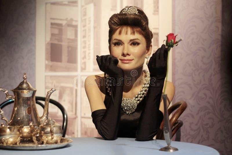 Audrey Hepburn imagen de archivo libre de regalías