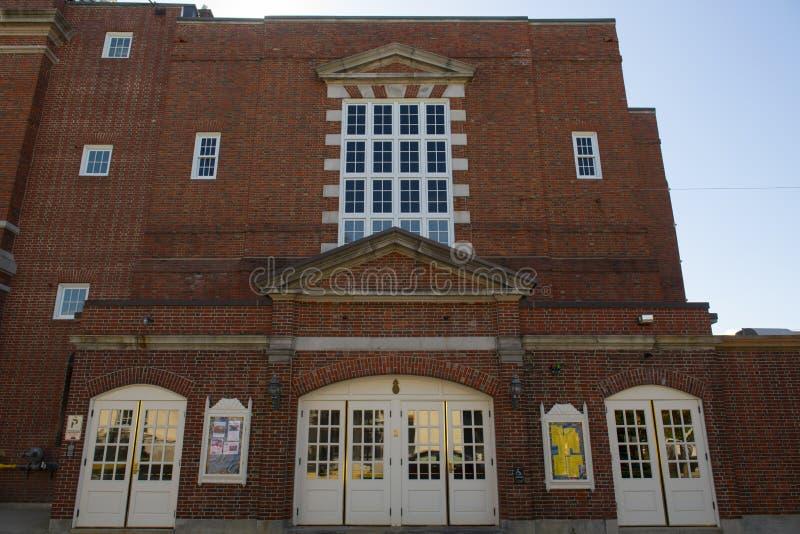 Audytorium Concord City, New Hampshire, Stany Zjednoczone Ameryki zdjęcia stock