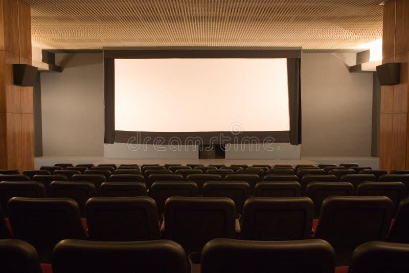 audytorium kina pusty mały obraz stock