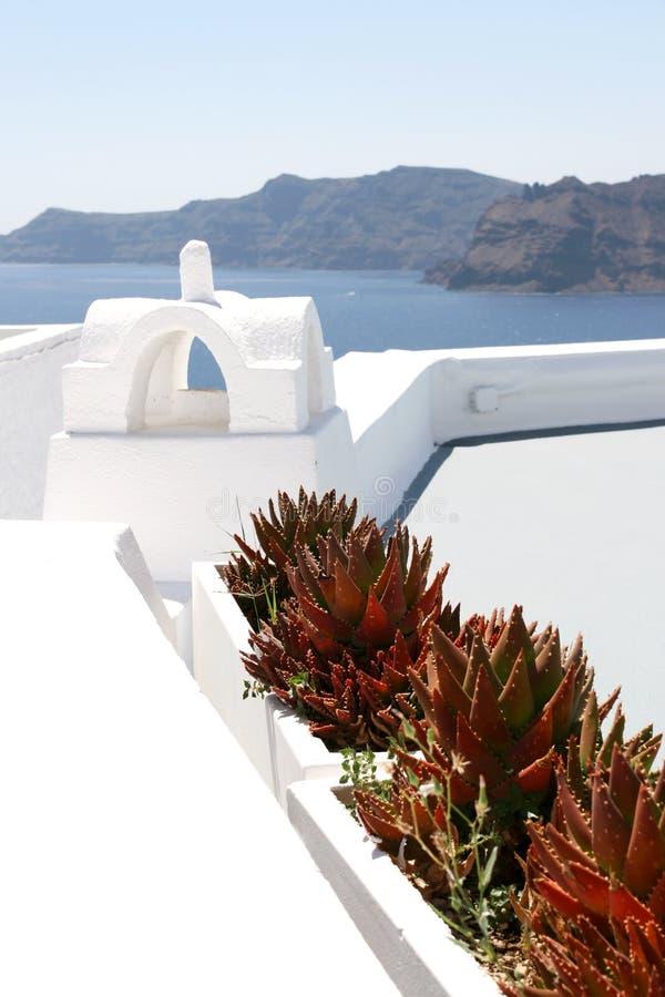 Auf dem Dach lizenzfreies stockfoto