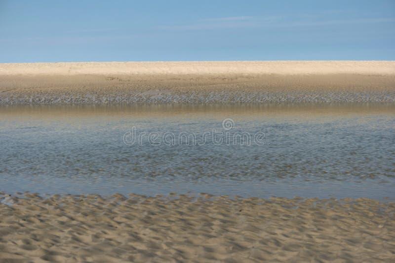 Auf dem Strand von St. Peter-Ording stockbilder