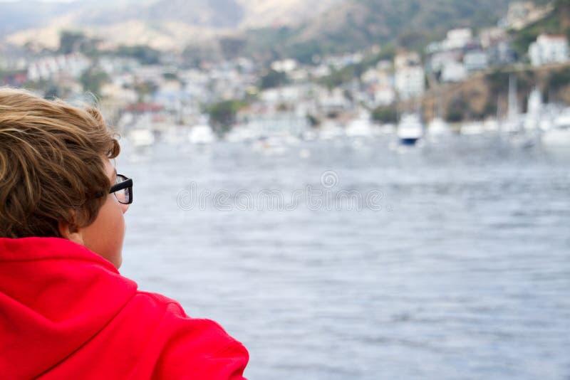 Auf dem Wasser stockfoto
