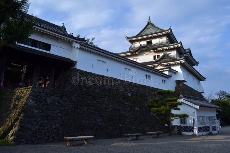 Auf dem Weg zu Wakayama-Schloss stockfoto