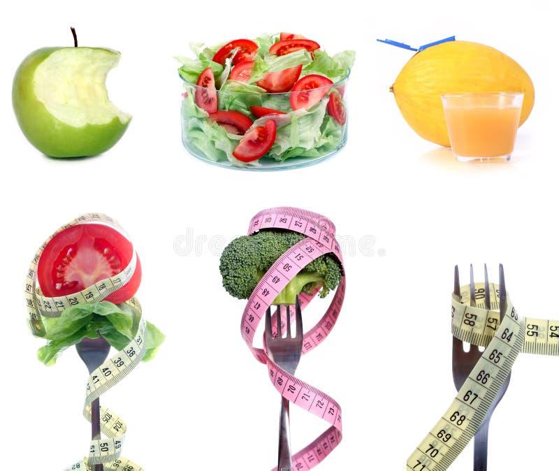 Auf Diät lizenzfreies stockfoto