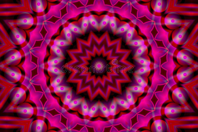 Auf lagerbild des abstrakten Kaleidoskops vektor abbildung