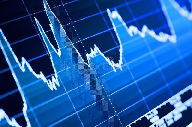 Auf lagerdiagramm lizenzfreie stockfotografie