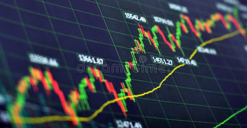 Auf lagerdiagramm stockfotografie