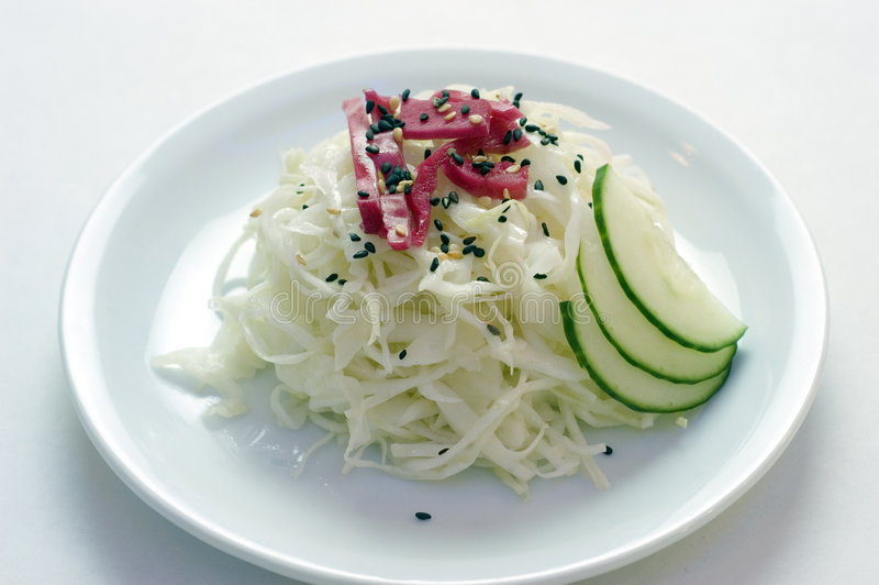 Auf lagerfoto des japanischen Salats PS-43002 stockfotos
